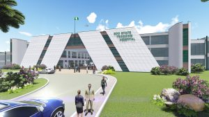 ESH-ADMIN GROUND-FRONT VIEW-A